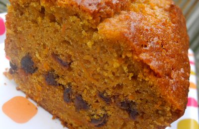 Carrot-Cake, dattes et cardamome, parce que ça rend aimable !