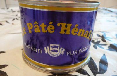 Sauce Hénaff, citron gingembre, pour les crudités de l'apéro.