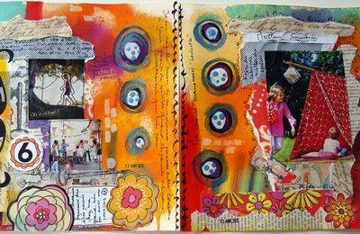 art journal sujet 6