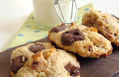 ♥ Cookies extra sain choco noix amandes ♥
