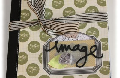 "Mini album ""image"" crop de prisca"