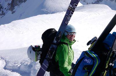 Vallée Blanche un jour de foehn à Chamonix