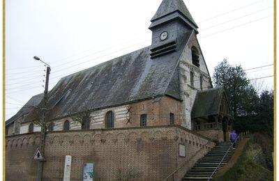 MAREUIL-CAUBERT: son église