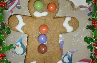 Une carte de Noël à manger