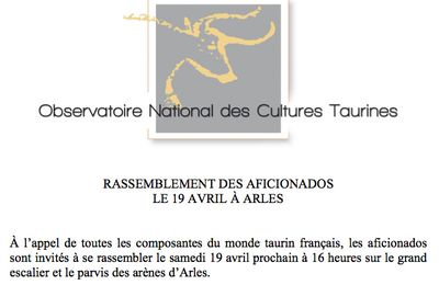 GRAND RASSEMBLEMENT ARLES 19 AVRIL 2014