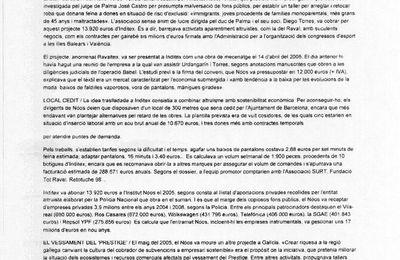 Corrupción en las Asociaciones, Fundaciones, ONGs, A. de Vecinos, Colegios Profesionales, ......