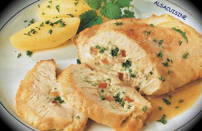 Escalopes de dinde farcies