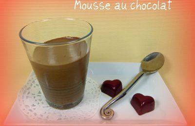 L'ingrédient-mystère # 2 Mousse au chocolat au tofu soyeux
