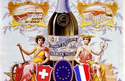 la Route de l'Absinthe Franco-Suisse !