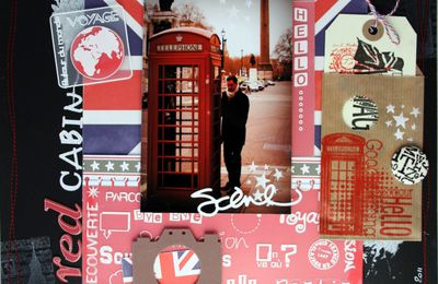 Page Londres {Red Cabin}