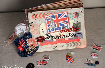 "Mini album So British souvenirs ""Londres"""