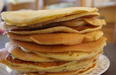 Pour des pancakes succulents voici ma recette: