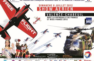 MEETING AERIEN 2012 A VALENCE CHABEUIL LE 8 JUILLET 2012
