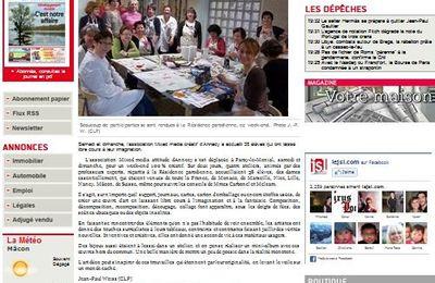 Rencontre de Paray dans le journal de Saône et Loire!