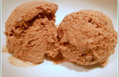 Une délicieuse glace au chocolat... comme chez Ben Jerry ..