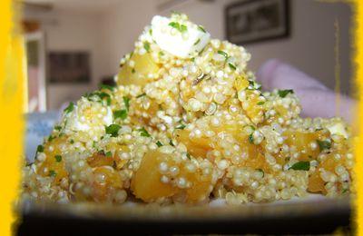 Quinoa à la courge butternut