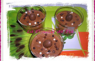 Mousse Chocolat à la Crème