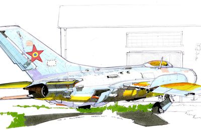 2 Migs au musee de l'air de Bucarest