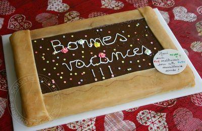 Gâteau au chocolat ardoise
