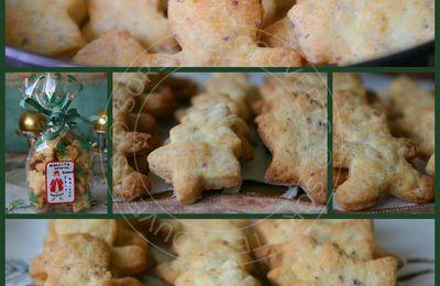 Biscuits sablés noisettes parmesan