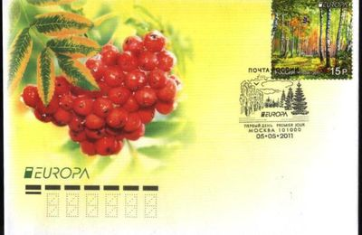 FDC 2011 RUSSIE EUROPA