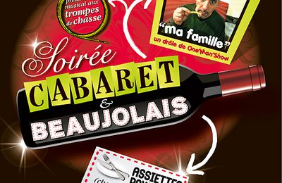 Soirée CABARET BEAUJOLAIS le samedi 20 novembre