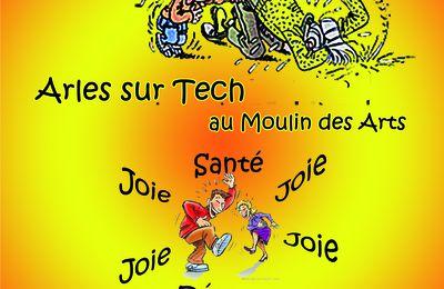 Rappel pour demain, dimanche 5 mai à Arles sur Tech !