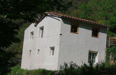 Location de vacances dans une maison écologique à 15mn d'Amélie les bains !