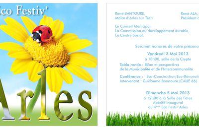 Ce dimanche 5 mai, le 4ème éco festiv'Arles organisé par la mairie d'Arles sur tech.