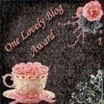~Petit tag : One Lovely Blog Award~