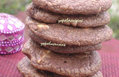 Outragious Cookies aux 3 Chocolats... Attention, Tuerie!