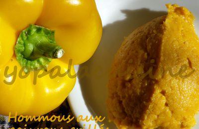 Hommous Aux Poivrons Grillés, Doré A Souhait!