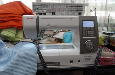 Janome horison memory craft 8900 QCP