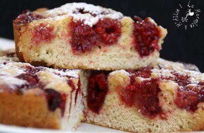 Gâteau aux Framboises Simplissime & Délicieux