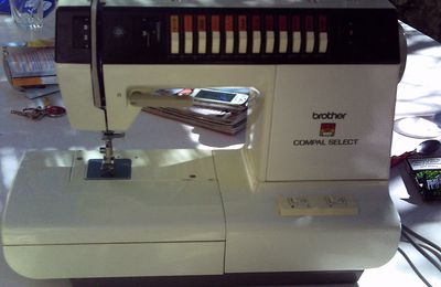 NOTICE MAC BROTHER COMPAL SELECT MODELE 485...
