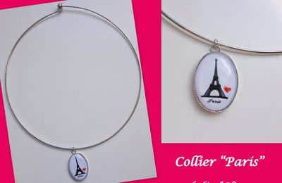 I Love Paris... (un collier à gagner!)