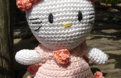 Hello Kitty - roses