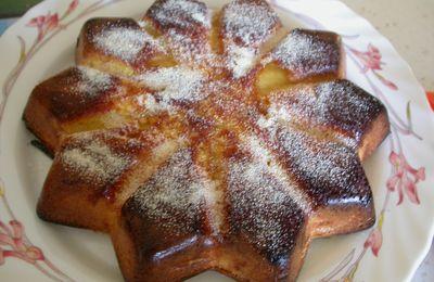 Gâteau aux pommes et au Grand Marnier