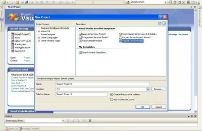 Beginning SQL Server 2005 - First Sample SSRS
