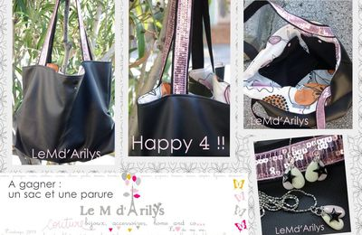 Happy 4 - Anniblog ! + Edit : Résultat.