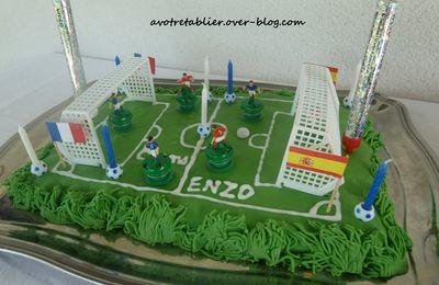 Gâteau Foot ...