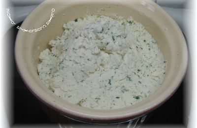 Fromage frais ail & fines herbes