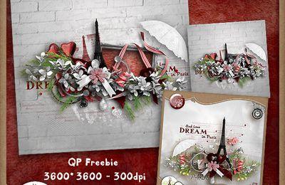 """Quick page freebie """"Dream in Paris"""""""