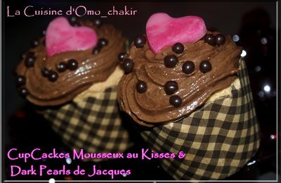 CupCackes Mousseux au Kisses & Dark Pearls de Jacques