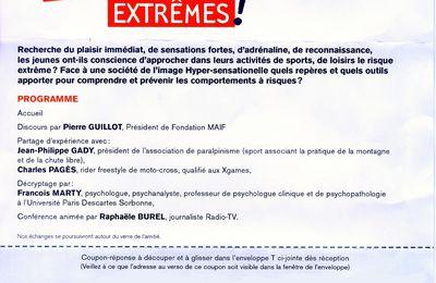 """Conférence à Lyon le 4 février: """"Jeunes et risques extrèmes"""""""