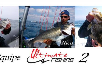 Labrax cup 2010 Ultimate fishing monte sur la 3° marche