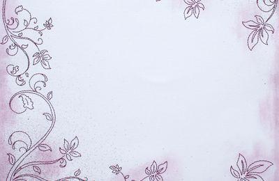 Broderies sur papier