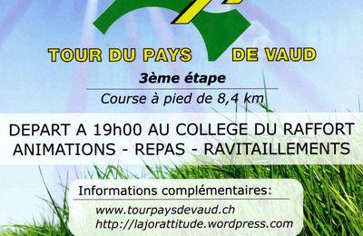 Préambule de l'étape No 3 du TdPdV: Mézières (25 août 2010)