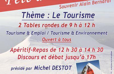 Débats : Tourisme & Emploi / Tourisme & Environnement