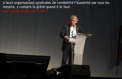 Humour: Jean-Claude Mailly le 24 janvier 2013...